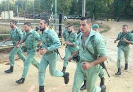 legionarios corriendo